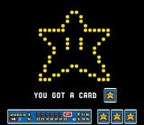 Super Mario All-Stars SNES This happens when the player collect three same cards: a fire-worked item in the sky!