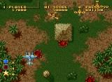 Ghost Pilots Neo Geo Flying over wasteland