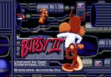 Bubsy II Genesis Title screen