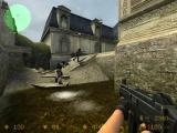 Counter-Strike: Source Windows Terrorists heading to a bomb site.