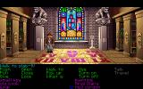 Indiana Jones and The Last Crusade: The Graphic Adventure DOS Library above tunnels