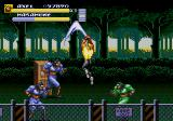 Streets of Rage 3 Genesis Axel's jump and slam move