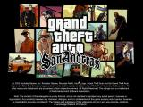 Grand Theft Auto: San Andreas Windows Title screen.