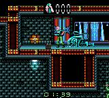 Alien³ Game Gear Got into the room, only to be attacked by the blue beast