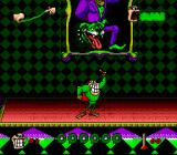 Boogerman: A Pick and Flick Adventure SNES Infiltrating enemy palace