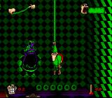 Boogerman: A Pick and Flick Adventure SNES So what now, you big monkey?