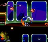 Earthworm Jim SNES What the fish do to poor Jim is beyond comprehension