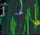 Earthworm Jim SNES Gee, how cool... Bungee-jumping!
