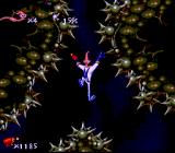 Earthworm Jim SNES Falling down, to the pain, to the death...