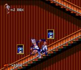 "Earthworm Jim 2 SNES Our hero receiving a ""heavy"" punishment..."
