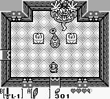 The Legend of Zelda: Link's Awakening Game Boy The second boss is invincible until you find a way to damage his bottle