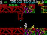 The Ice Temple ZX Spectrum Levers remove forcefields among other things