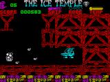 The Ice Temple ZX Spectrum Your cruiser is very fast and fires rapidly