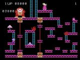 Donkey Kong ColecoVision The third level features lots of little platforms