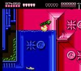 Battletoads NES Face sharks, piranhas, and the most deadly of aquatic adversaries, the rubber ducky!