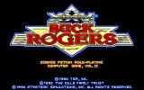 Buck Rogers: Matrix Cubed DOS The 25th century Buck Rogers Logo