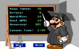 Mario Teaches Typing DOS Your results