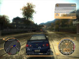 Need for Speed: Most Wanted Windows The blue arrows are police cars. You have to lose them...
