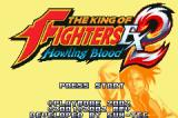 The King of Fighters EX2: Howling Blood Game Boy Advance Title screen.
