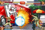 The King of Fighters EX2: Howling Blood Game Boy Advance With a big power difference, Takuma's DM Haoh Shi Koh Ken surpasses Andy's Violent Hi Sho Ken move.