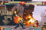 The King of Fighters EX2: Howling Blood Game Boy Advance Fearing that Athena (now recovered) attacks first, Kyo executes his DM Orochinagi as a precaution.