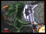 Hexen: Beyond Heretic Nintendo 64 Timon's Axe - fighter's second weapon.
