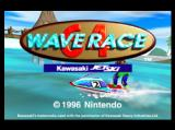 Wave Race 64: Kawasaki Jet Ski Nintendo 64 The Start Menu
