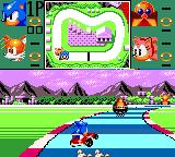 Sonic Drift Game Gear Marble course