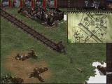 Commandos: Behind Enemy Lines Windows the map for mission 4