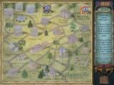 Mystery Case Files: Huntsville Windows Town Map - choose where you want to investigate first