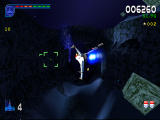 Galaga: Destination Earth PlayStation Europa Level 3D - Approaching the Turbines.