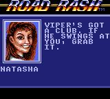 Road Rash Game Gear There are some babes racing too.