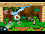 Paper Mario Nintendo 64 Troopa Jr. is a mad bully who always wants to fight