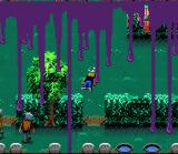 Zombies Ate My Neighbors SNES On the SNES, the gruesome death scene's blood is purple