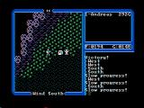 Ultima IV: Quest of the Avatar DOS Mountains (CGA with composite monitor)