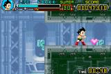 Astro Boy: Omega Factor Game Boy Advance Recover health by taking that heart