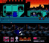 The Punisher NES On the docks, bullets can rip open crates and reveal power-ups