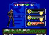"The King of Fighters 2000 Neo Geo The old-skool ""How To Play"" screen: learning (or reviewing) some basic fighting commands..."