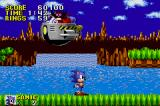 Sonic the Hedgehog Game Boy Advance Robotnik is toast!