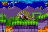 Sonic the Hedgehog Game Boy Advance Watch out for Caterkiller!