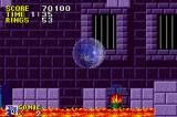 Sonic the Hedgehog Game Boy Advance These blocks fall from the ceiling and can crush you!