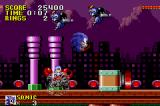 Sonic the Hedgehog Game Boy Advance Spring Yard Zone is chock full of all sorts of traps