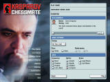 "Kasparov Chessmate Windows ""Exhibition"" Chess Club game settings."