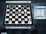 "Kasparov Chessmate Windows ""Historic Game"" match between Kasparov and R. Akesson."