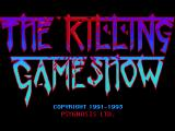 The Killing Game Show Genesis Euro and Japanese title screen - that's more like it.