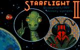 Starflight 2: Trade Routes of the Cloud Nebula DOS Title screen