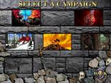 Heroes of Might and Magic III: Armageddon's Blade Windows Campaign selection screen