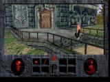 Roberta Williams' Phantasmagoria DOS Approaching the front door of the castle