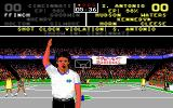 Omni-Play Basketball DOS Uh oh, looks like a penalty! (Tandy)