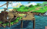 King's Quest VI: Heir Today, Gone Tomorrow DOS Outside a boat